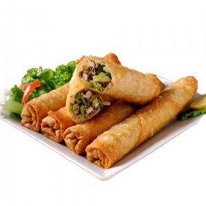 Homemade Thai Vegetable Spring Roll (V) (VG)